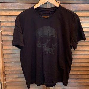 John Varvatos skull t-shirt men's size L